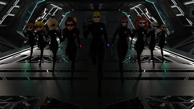 Zero Stealth Suit Spy Ladies