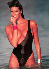 Elle Macpherson, Sports Illustrated, February 12, 1990, photograph by Robert Huntzinger