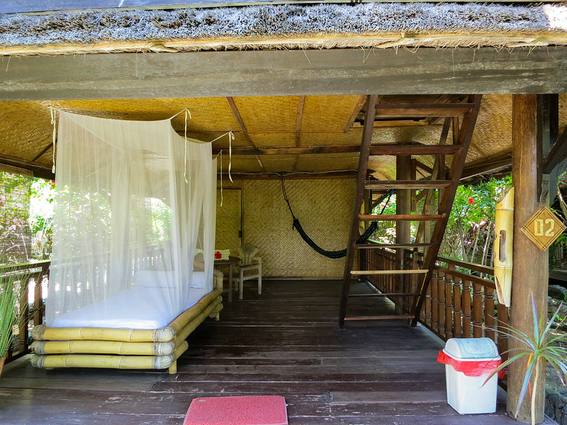 Sunrise Gili Air bungalow bedroom level