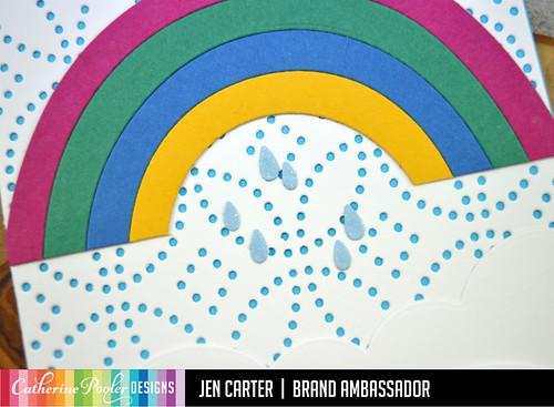 Petal Connection Cover Plate Melon Edge Over the Rainbow JDC Closeup