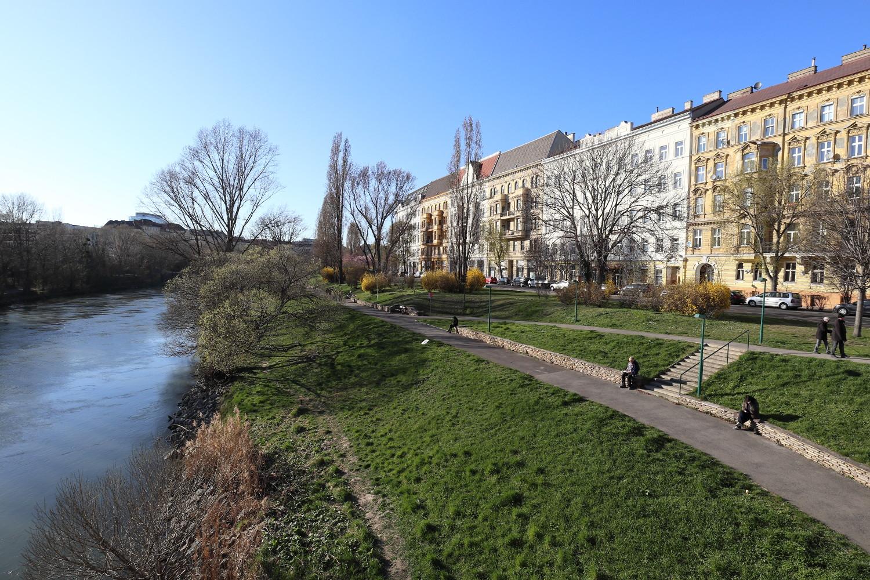 Donaukanal, Schüttelstraße Waterfront