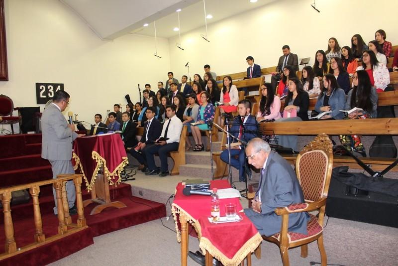 Culto especial de Aniversario juventud de Coelemu