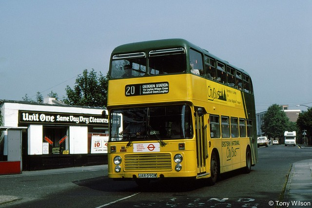 UAR590W Eastern National Citybus 3100