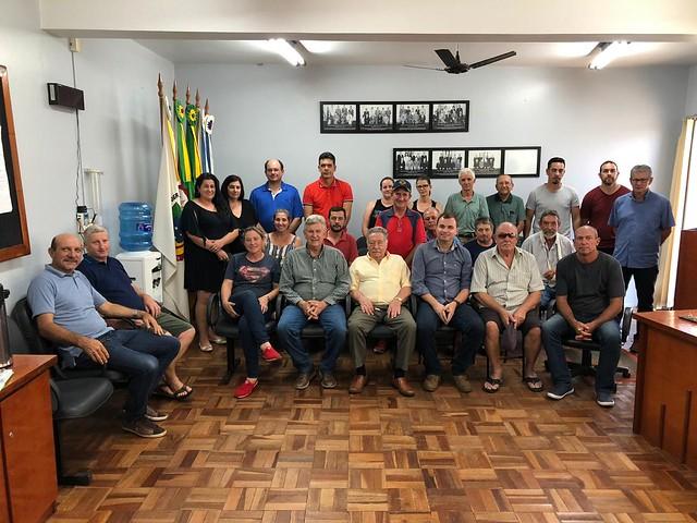 14/03/2020 Reunião Progressistas Nova Esperança do Sul