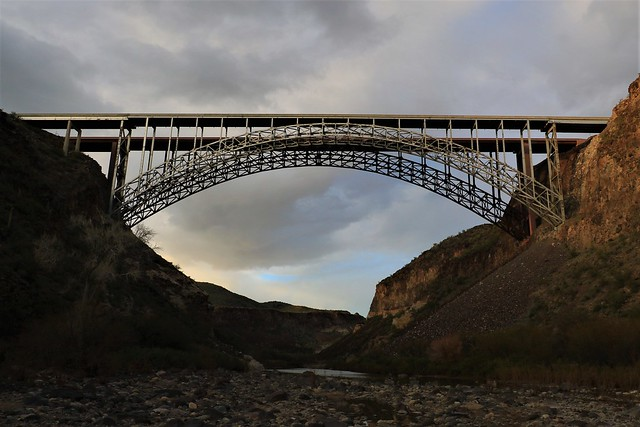 Burro Creek Bridge Sunset 7D2_5928