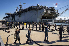 NAVADMIN 065/20 released on March 14 declared an all stop on any movements inside the United States and updated official and personal travel rules. (U.S. Navy file photo)