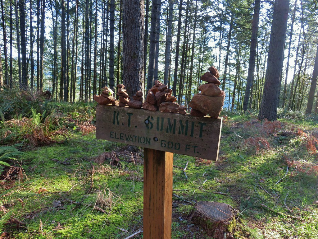 K.T. Summit sign at Miller Woods