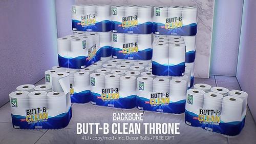 BackBone Butt-B Clean Throne