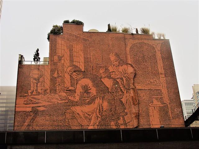 Randall Building Mural