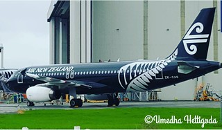 Air New Zealand Airbus A320-232 ZK-OAB | by Umedha Hettigoda