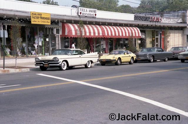Pearl River, NY. 1957 Dodge Coronet 2 door hardtop. Villa Amore Restaurant. 67 East Central Avenue