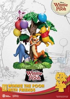 與繽紛的氣球一起飛上天吧~ 野獸國 夢-精選 系列《小熊維尼》小熊維尼與朋友們 Winnie the Pooh With Friends D-Stage 053