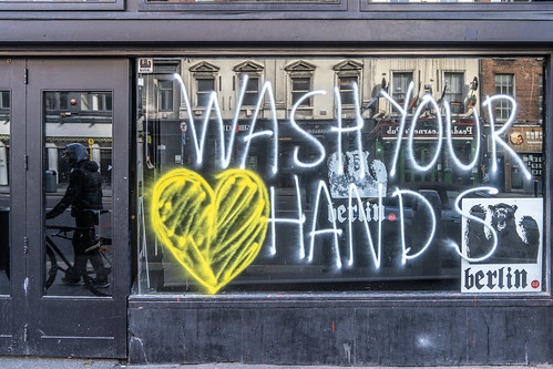 WASH YOUR HANDS [COVID-19 SELF PROTECTION ADVICE]-160613-1 | by infomatique