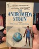 Who's reading virus related books now? I'm not but can understand getting into some fiction to take your mind off the current reality! At my parents' is the first Dell books copy of The Andromeda Strain from 1970, predating the movie by about a year. #and
