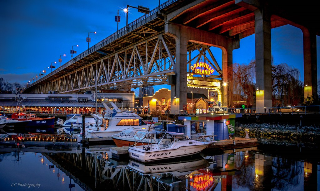The best place is Granville island - Granville Island