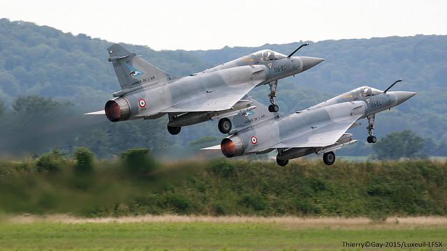 French Air Force Dassault Mirage 2000-5 116-EO /66 -116-EL / 56