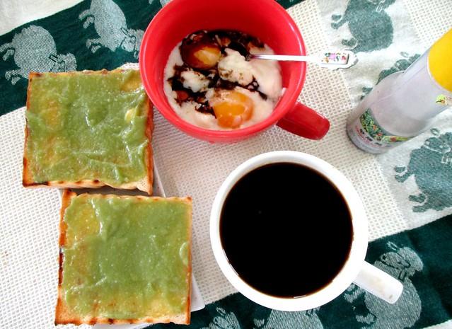 Traditional Malaysian breakfast