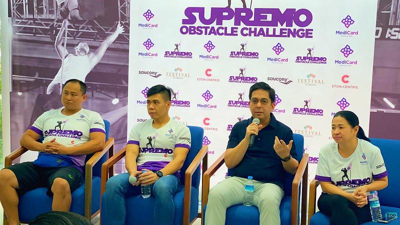 SUPREMO OBSTACLE CHALLENGE 12 ROD MAGARU