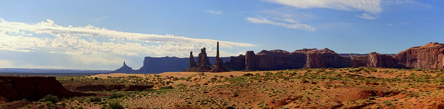 Totem Pole - Monument Valley - Panorama, Utah [explored]