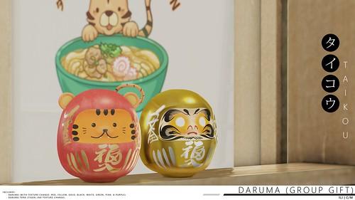 taikou / daruma group gift