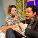 Jessica Hardwick and Olivier Huband in Barefoot in the Park
