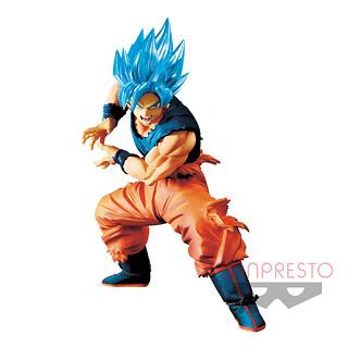 閃耀的SSGSS藍髮~BANPRESTO MAXIMATIC系列《七龍珠超》孫悟空 第二彈 景品(ドラゴンボール超 MAXIMATIC THE SON GOKU II)