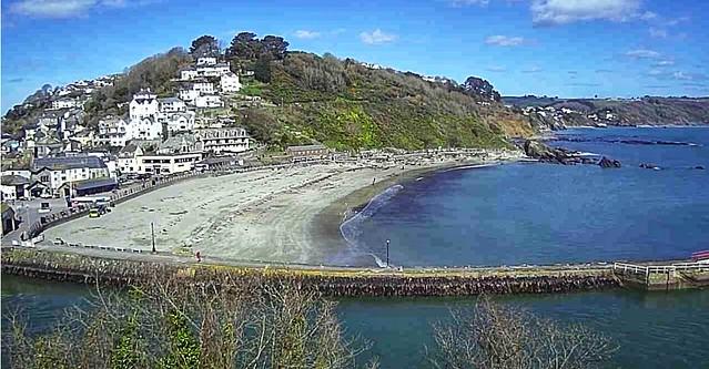 Beautiful looe beach Cornwall