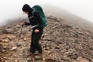 Monte Cinto (2706m) descend