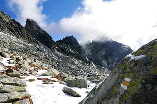 Trail signs - Hiking High Tatras
