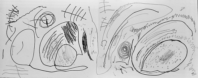 076/366: a secret language of lines (by a shy 3 year old)