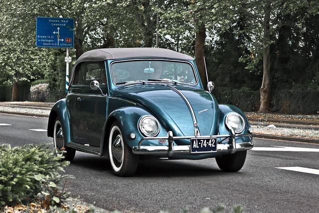 Volkswagen Typ 1 Beetle Cabriolet 1958 (5866)