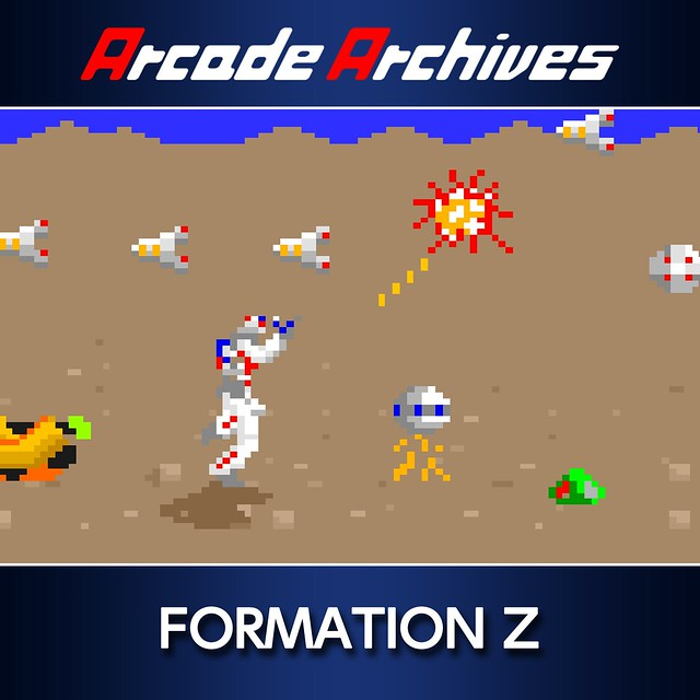 Thumbnail of Arcade Archives FORMATION Z on PS4