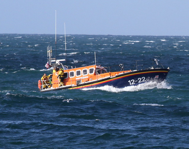 the old Peel lifeboat 12-22