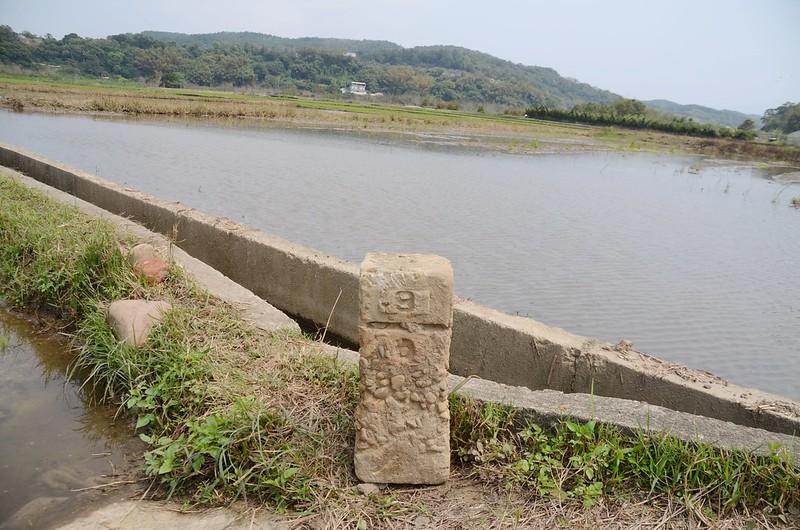 老屋下總督府內務局水準點(# 町杭9-0 Elev. 52 m) (2)
