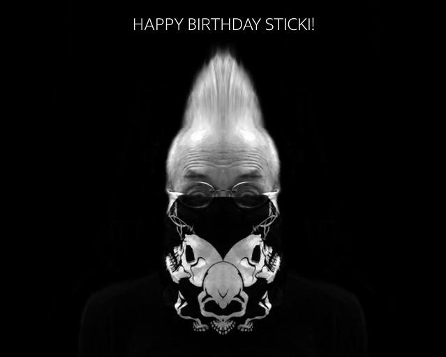Happy Viral Birthday Sticki!