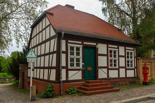 Fachwerkhaus im Behnitz