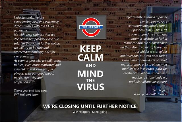 MIND THE VIRUS.