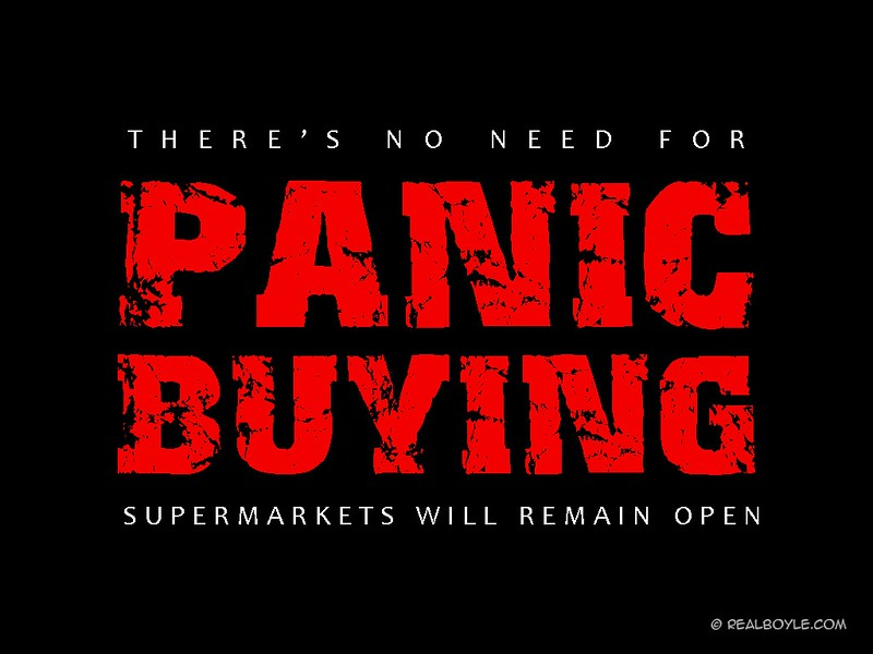 panic-buying