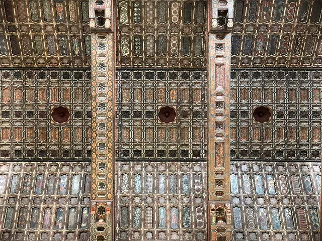 Techumbre mudéjar de la nave central de la catedral de Teruel