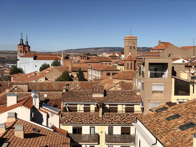 Teruel desde la torre de San Salvador