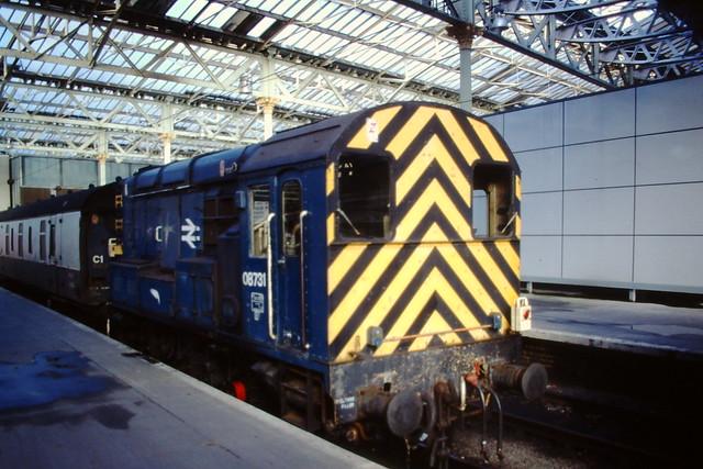BRITISH RAIL 08731