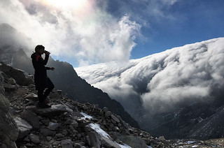 Tea break near Priecne Sedlo (2352m)