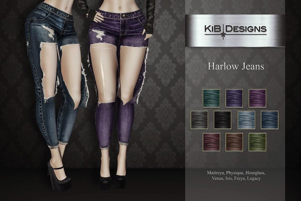 KiB Designs – Harlow Jeans @Suicidal Dollz