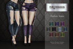 KiB Designs - Harlow Jeans @Suicidal Dollz