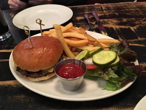 Blue Smoke Burger