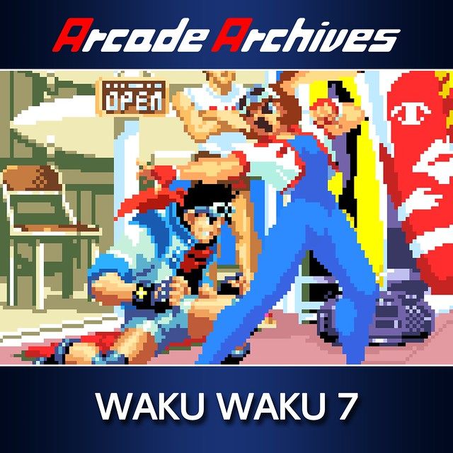 Thumbnail of ACA NEOGEO WAKU WAKU 7 on PS4