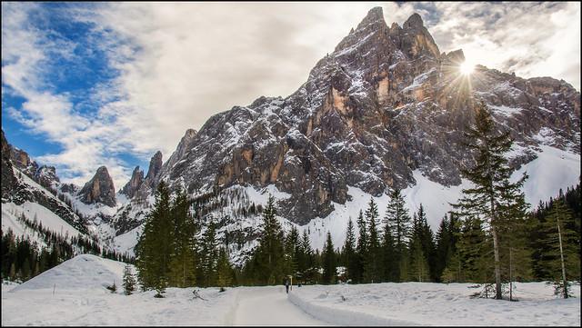 Auf dem Weg zur Talschlusshütte