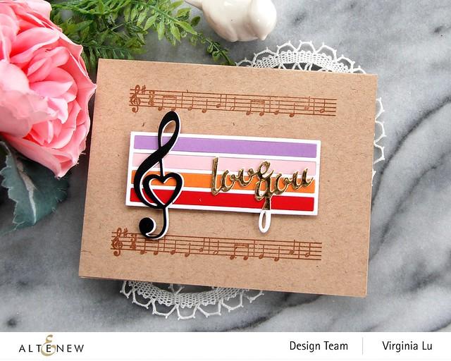 Altenew-Happybirthday to you-TrebleClef Die Set-Virginia#6