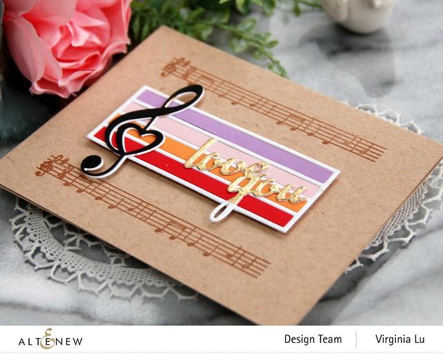 Altenew-Happybirthday to you-TrebleClef Die Set-Virginia#5