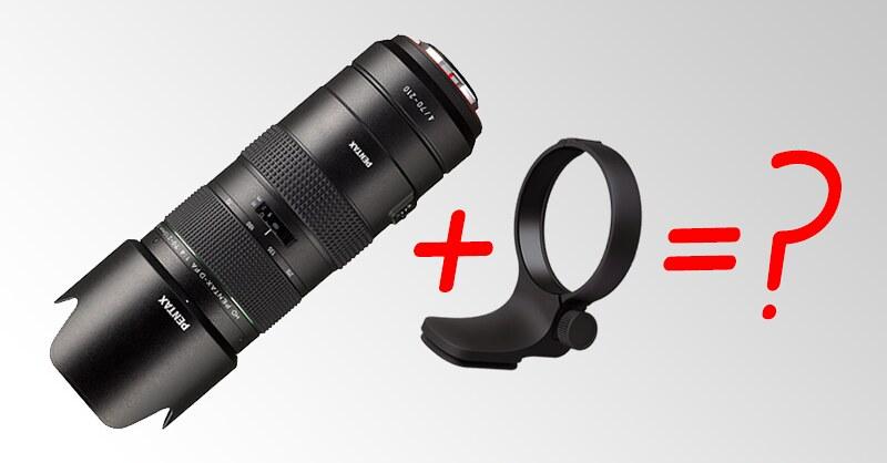 Tripod collar for HD PENTAX-D FA 70-210mm F4 ED SDM WR?